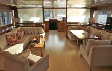 crewed charter yacht